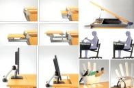 ergonomiškas vaikų stalas